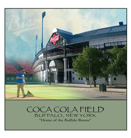 FEEL GOOD GREETINGS INK COCA COLA FIELD STONE COASTER