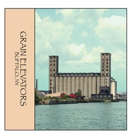 FEEL GOOD GREETINGS INK GRAIN ELEVATORS STONE COASTER