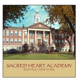 FEEL GOOD GREETINGS INK SACRED HEART ACADEMY STONE COASTER