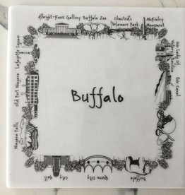 MIDPOINT LTD/THE DISH BUFFALO IMAGES TRIVET