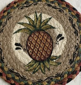 "CAPITOL IMPORTING CO Pineapple 10"" Woven Trivet"