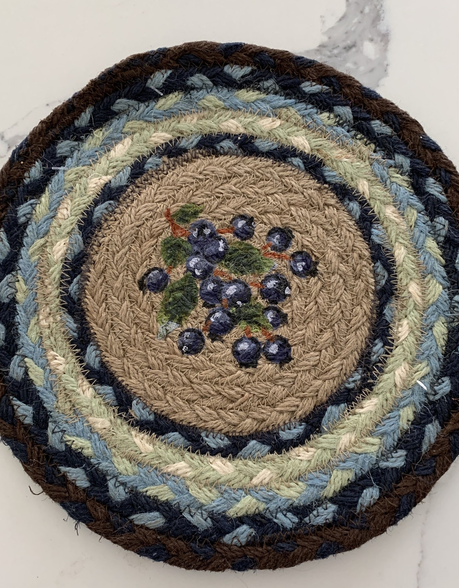 CAPITOL IMPORTING CO BLUEBERRY TRIVET