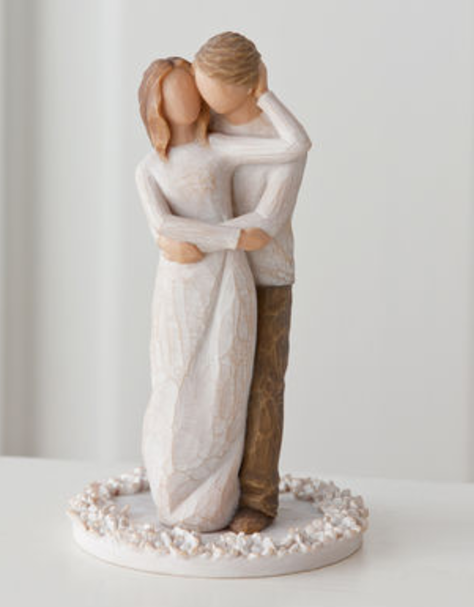 DEMDACO WILLOW TREE - TOGETHER CAKE TOPPER