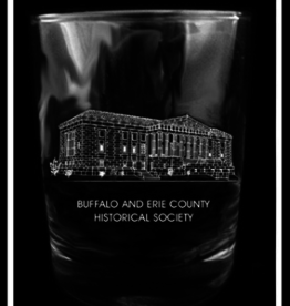 BUFFALO HISTORY MUSEUM ROCK GLASS