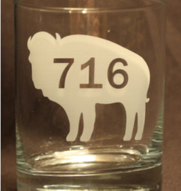 716 BUFFALO ROCK GLASS