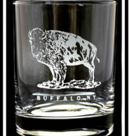 STANDING BUFFALO ROCK GLASS
