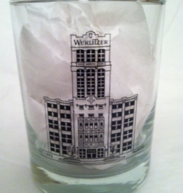 THE WURLITZER BUILDING ROCK GLASS