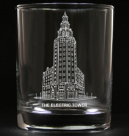 PREDMORE CREATIONS ELECTRIC TOWER ROCK GLASS