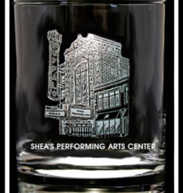 PREDMORE CREATIONS SHEA'S PERFORMING ART CENTER ROCK GLASS