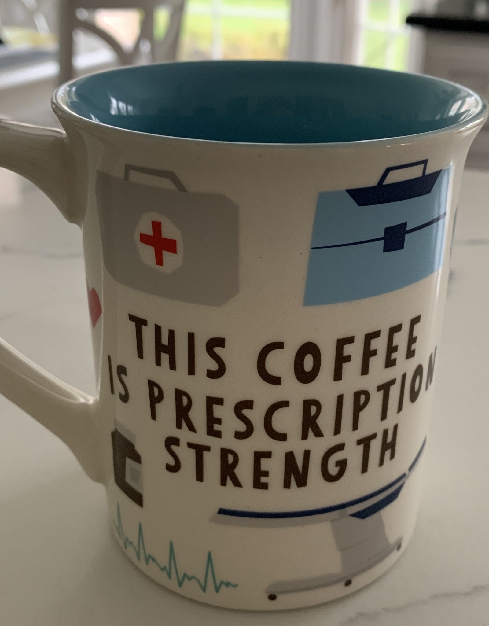 ENESCO DOCTOR...THIS COFFEE IS PRESCRIPTION STRENGTH MUG