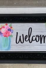 EVERGREEN ENTERPRISES, INC. MASON JAR WELCOME - DOOR MAT INSERT