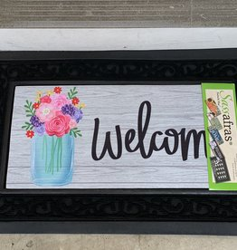 EVERGREEN ENTERPRISES, INC. MASON JAR WELCOME DOOR MAT INSERT