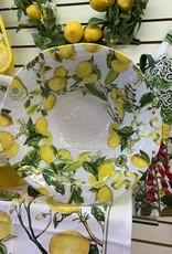 MICHEL DESIGNS Melamine Lemon Serving Bowls