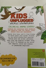 PETER PAUPER PRESS Kids Unplugged Animal Adventures Activity Book