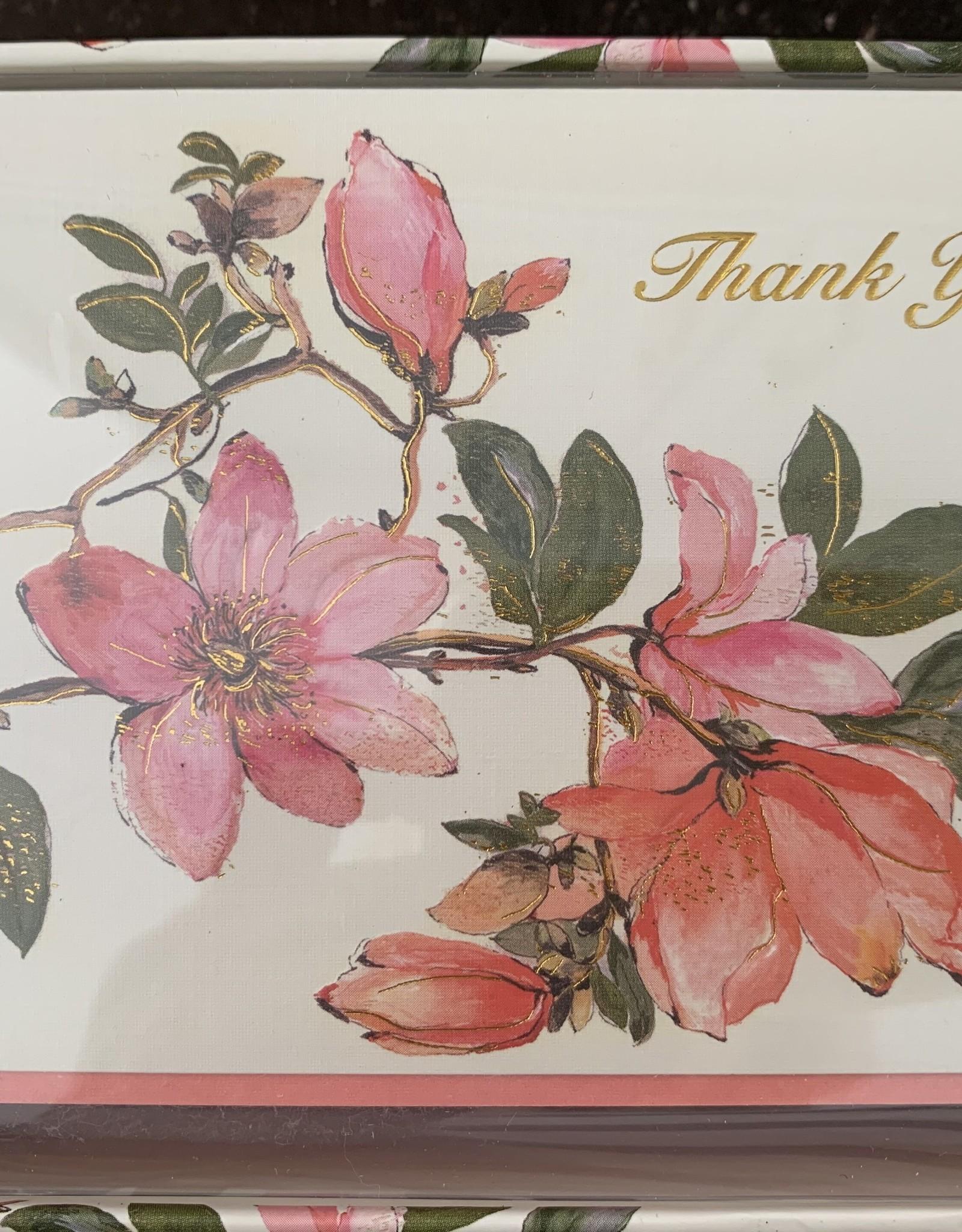 PETER PAUPER PRESS Thank You Notecards - Magnolia