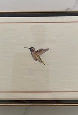 PETER PAUPER PRESS BOXED NOTECARDS - HUMMINGBIRD FLIGHT