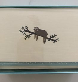 PETER PAUPER PRESS BOXED NOTECARDS - SLOTH