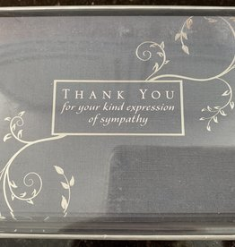 PETER PAUPER PRESS Thank You Notecards - Kind Expression of Sympathy