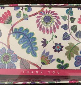 PETER PAUPER PRESS Thank You Notecards - Fantasy Floral