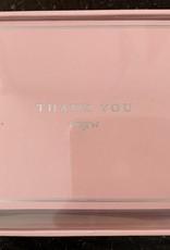 PETER PAUPER PRESS Thank You Notecards - Pink Elegance