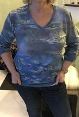 BREEKE Masterpiece Monet Waterlilies Shirt