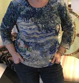 BREEKE Masterpiece Monet Olive Grove Shirt