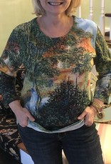 BREEKE Masterpiece Monet Pathway Shirt