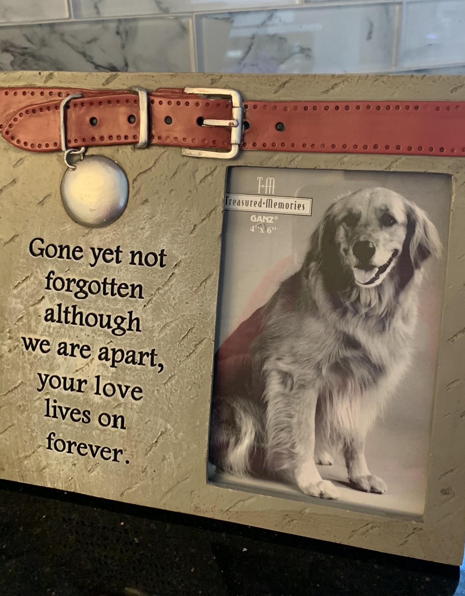GANZ Gone Yet Not Forgotten Dog Sympathy Frame