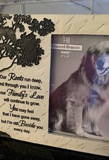 "GANZ ""Roots Run Deep"" Pet Sympathy Frame"