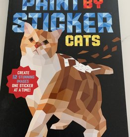 WORKMAN PUBLISHING Paint by Sticker Book: Cats