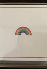 PETER PAUPER PRESS BOXED NOTECARDS - RAINBOW