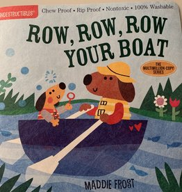 WORKMAN PUBLISHING Indestructibles Book - Row, Row, Row Your Boat