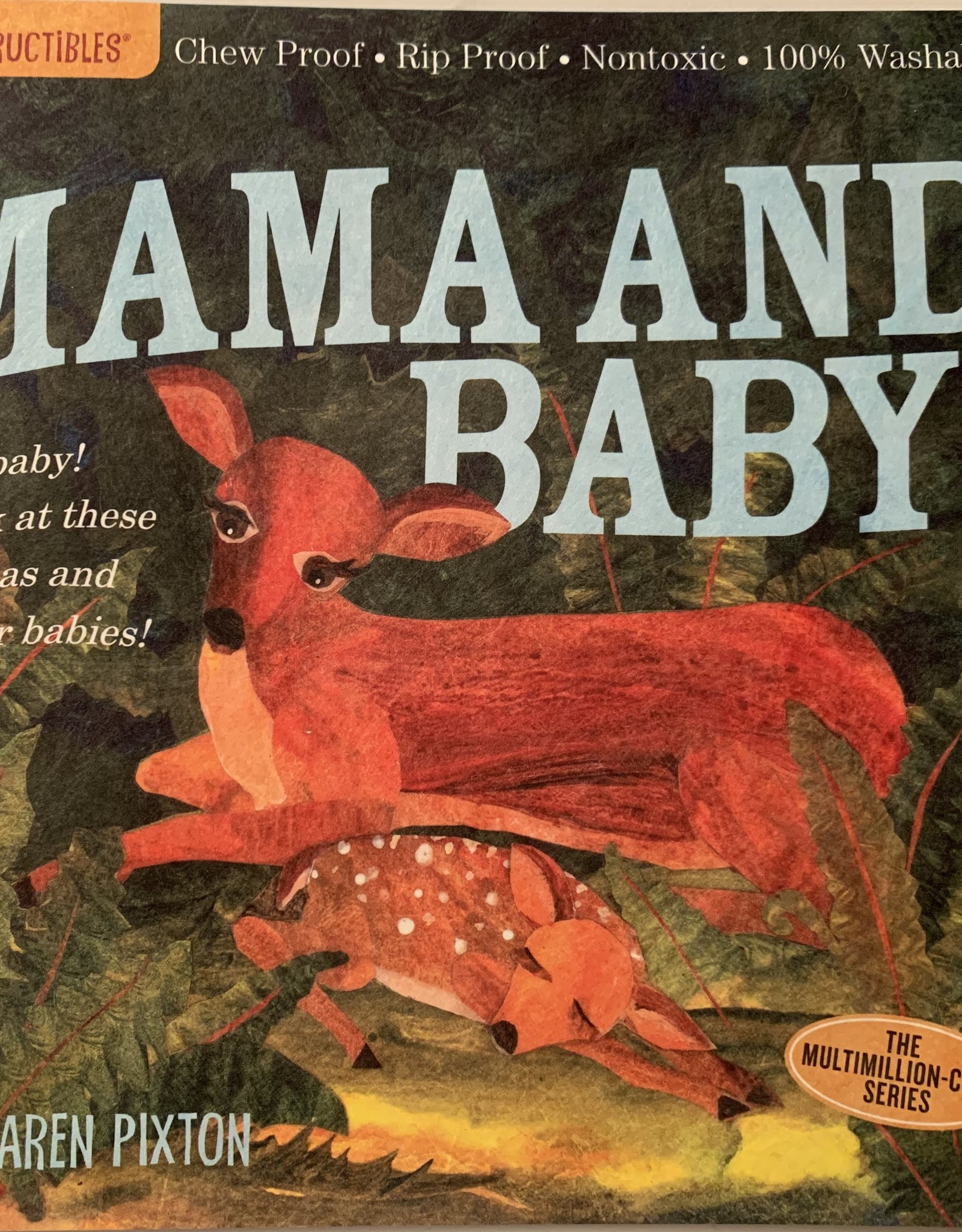 WORKMAN PUBLISHING Indestructibles Book - Mama and Baby!