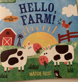 WORKMAN PUBLISHING Indestructibles Book - Hello Farm!