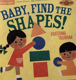WORKMAN PUBLISHING Indestructibles Book - Baby, Find The Shapes!