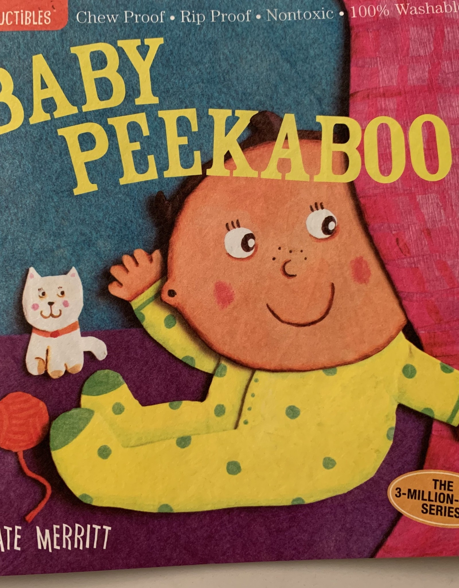 WORKMAN PUBLISHING Indestructibles Book - Baby Peekaboo