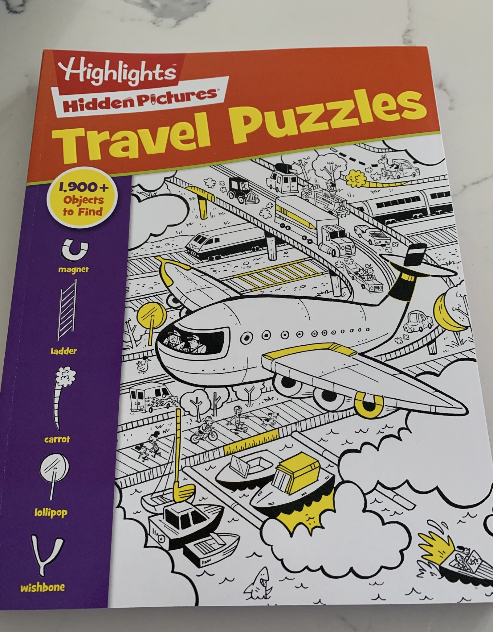 RANDOM HOUSE Highlights Travel Puzzles