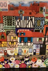 EEBOO Whimsical Village Puzzle