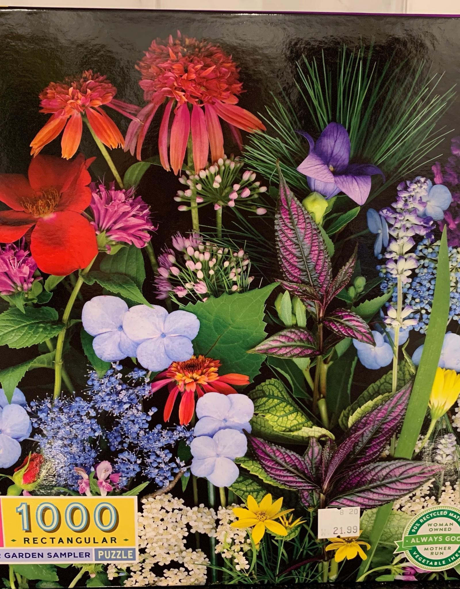 EEBOO 1000 pc Summer Garden Sampler Puzzle
