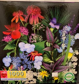 EEBOO 1000 pc Summer Garden Sampler Puzzle