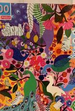 EEBOO 1000 pc Peacock Garden Puzzle