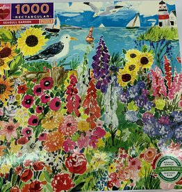 EEBOO 1000 pc Seagull Garden Puzzle