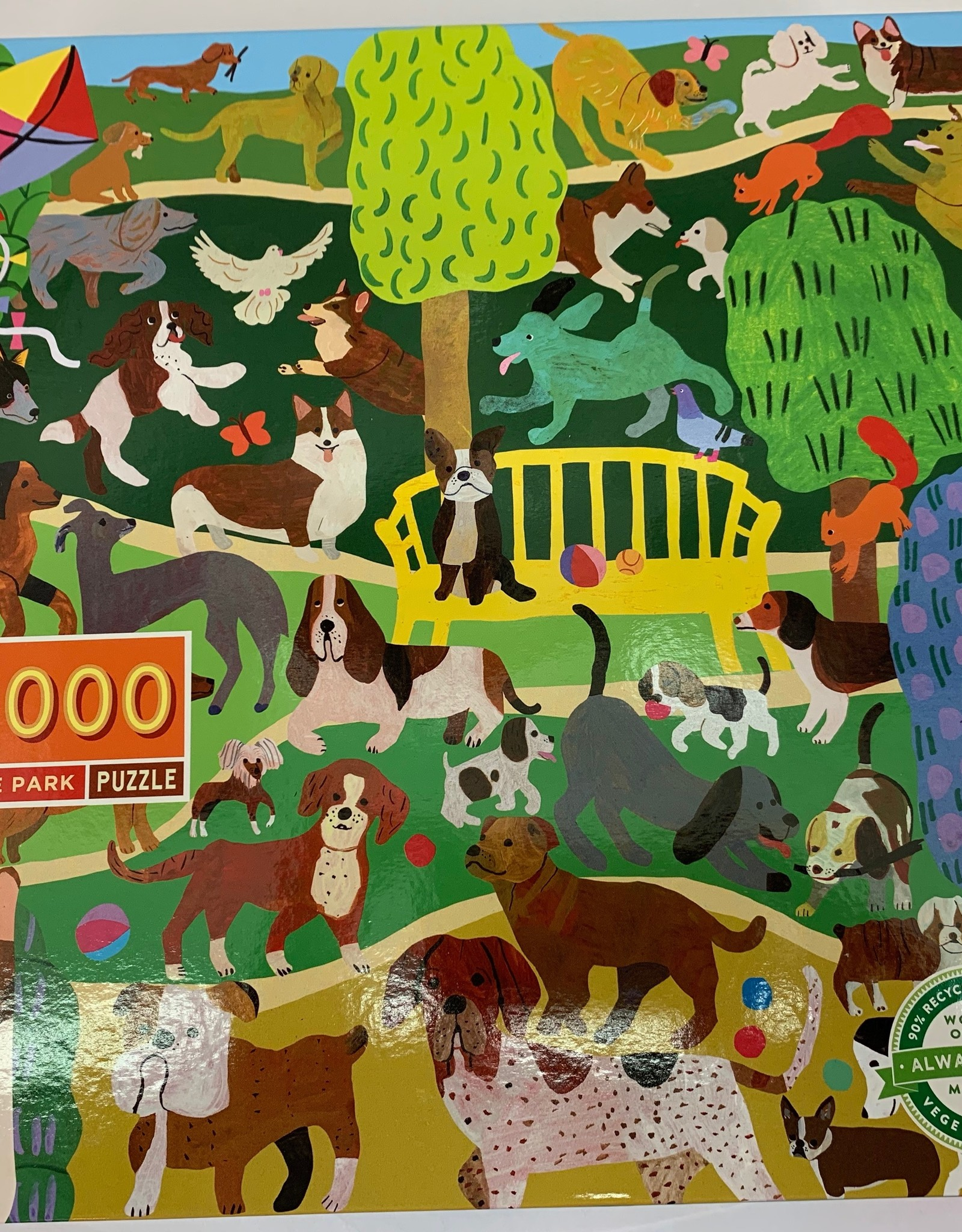 EEBOO Dogs in the Park Puzzle