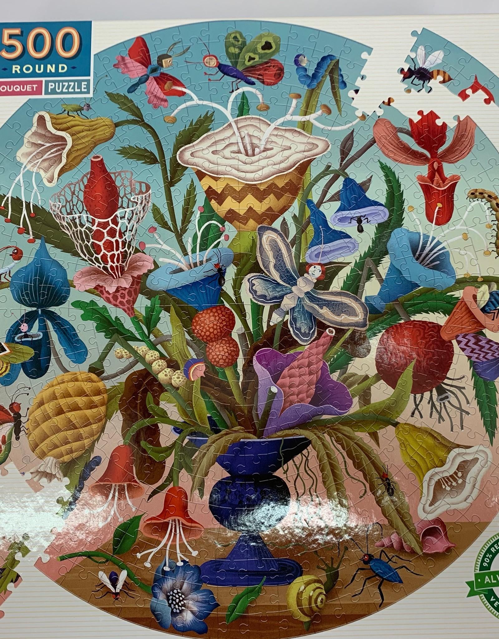 EEBOO 500 pc Crazy Bug Bouquet Puzzle