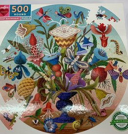 EEBOO 500 pc Crazy Bug Bouquet Puzzle