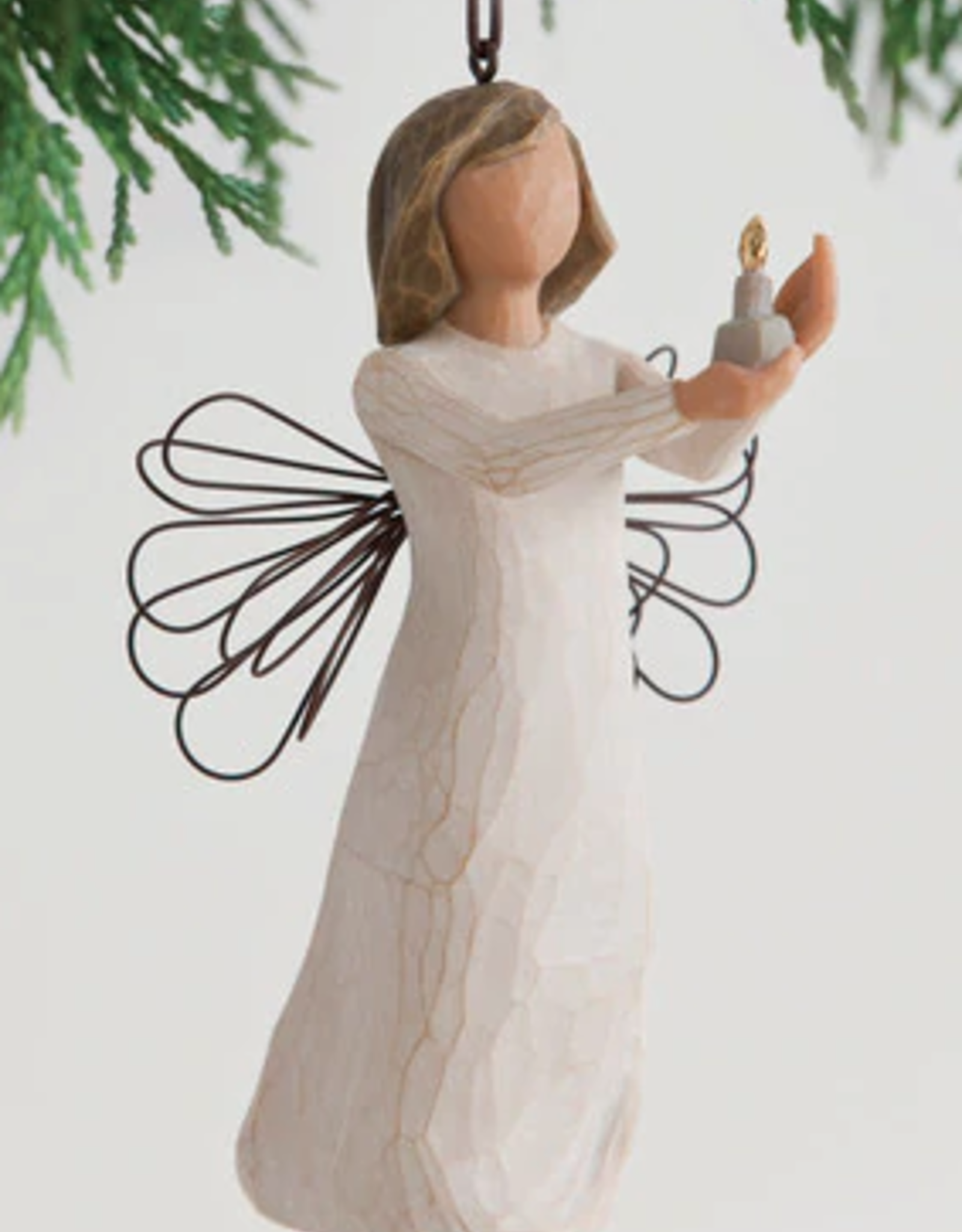 DEMDACO WILLOW TREE - ANGEL OF HOPE ORNAMENT