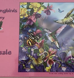 SUNSOUT, INC 300 pc Butterfly Hummingbirds Puzzle