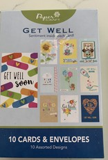 INTERNATIONAL GREETINGS Boxed Assortment of Get Well Cards