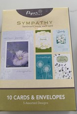 INTERNATIONAL GREETINGS Boxed Assortment of Sympathy Cards