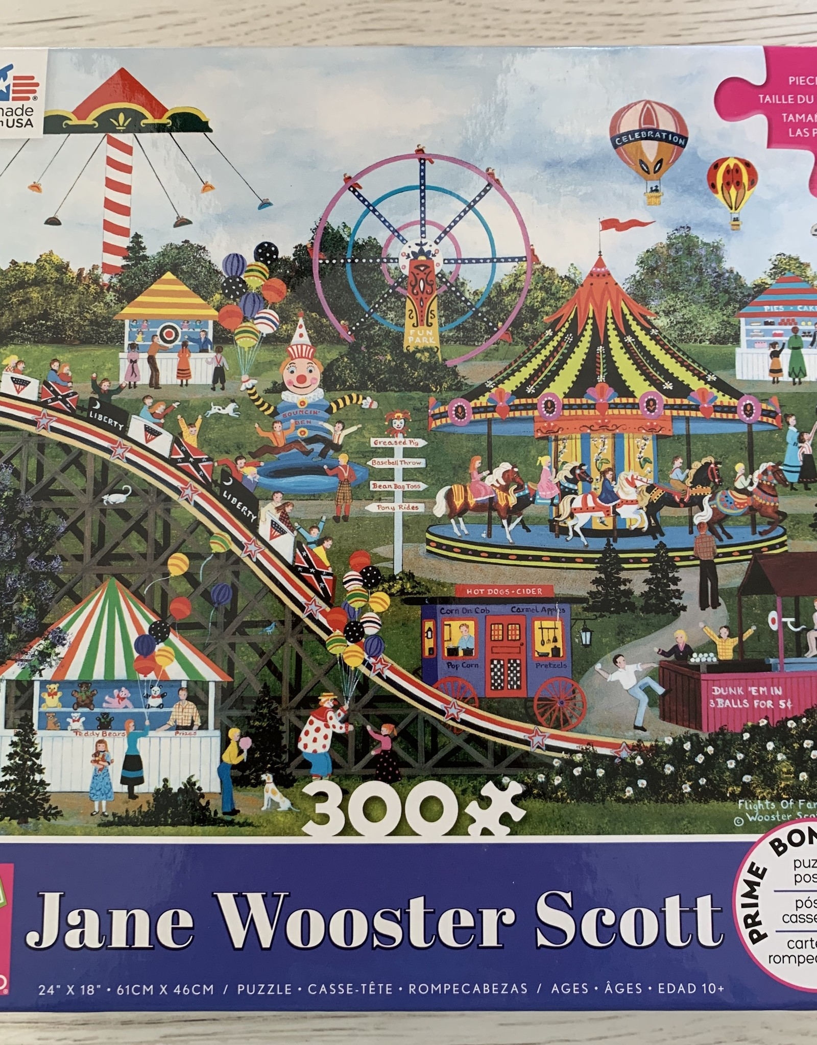 CEACO 300 pc Jane Wooster Scott Summer Carnival Puzzle